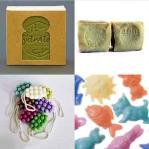 Various soaps